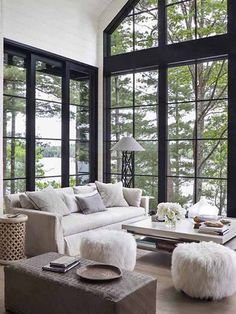 Peace! Step Inside an Interior Designer's Dreamy Lakeside Retreat. My dream forever home.