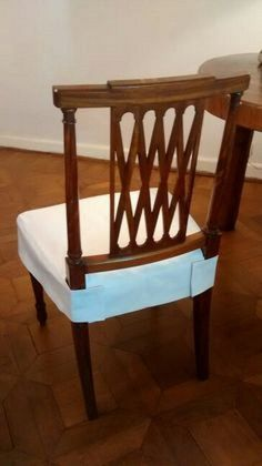 Pin by ° Comfy Chair ° on Chair Covers Dining Room Chair Slipcovers, Dining Room Chair Covers, Seat Covers For Chairs, Dining Room Chairs, Office Chairs, Couch Covers, Chair Cushions, Reupholster Furniture, Furniture Upholstery