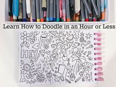 Want to learn how to add creative doodles to your planner or bullet journal? You only need one resource to get started boosting your creativity.