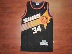 Phoenix Suns Cheap NBA  34 Black Charles Barkley Soul Swingman Jersey  Phoenix Suns Cheap NBA  34 Black Charles Barkley Soul Swingman Jersey 617ad2f76