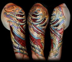 Tattoo by Carson Hill