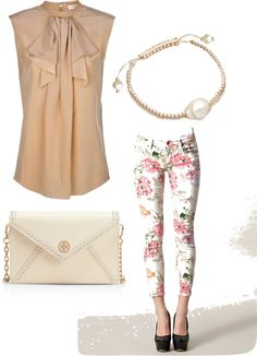 """""""floral jean"""" by rubi76 on Polyvore"""