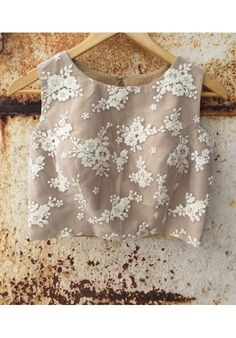 The Peach Project - Beige Princess Blouse More