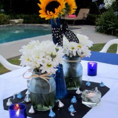 Summer party decoration