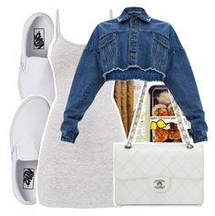 """Movie Date W Bre <3"" by fvckyopoly ❤ liked on Polyvore featuring Vans and Chanel"