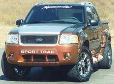 Sport trac Ford Sport Trac, Sports Track, Ford Explorer Sport, My Ride, Ford Trucks, Ranger, 4x4, Cars, Motors