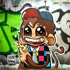 Quand GIF et street-art se rencontrent !