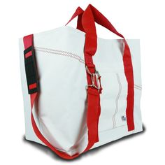 Sailor Bags Tote Bag  with Red Straps ** For more information, visit image link.