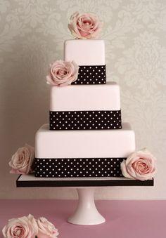 Peggy Porschen cake - polka dots & roses
