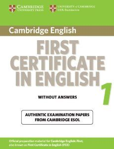 Cambridge first certificate in English
