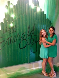 Take me to the Emerald City! Wizard of Oz theme is perfect for KD.
