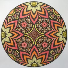 Mandala met Bruijnzeel keverblik en MXZ