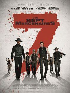 Les 7 Mercenaires - affiche