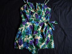 Vintage 1950's Hawaiian swimsuit. by vintagewayoflife on Etsy, $135.00