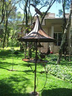 Alimentador para jardim