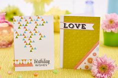 Follow Paula Pascual's instructions to make these beautiful cards (PaperCrafter, issue 85)