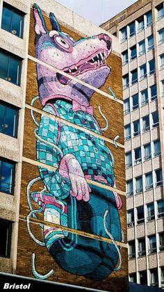 Peintures sur façade - Bristol