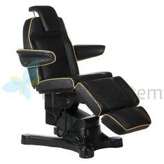 Elektryczny fotel kosmetyczny Napoli BG-207A czarn