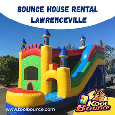 Kool Bounce Party offers Bounce House on rental in Lawrenceville. Our goal is to make bounce houses affordable, providing memories and joy to families and their children for any occasion with rental prices. Call us at for any inquiry! Bounce House Parties, House Party, Moonwalk Rentals, Inflatable Rentals, Bounce House Rentals, Party Needs, Carnival Games, More Fun, Things That Bounce