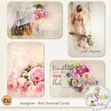 Imagine 4x6 Journal Cards EXCLUSIVE by Papierstudio Silke cudigitals.com cu commercial scrap scrapbook digital graphics#digitalscrapbooking #photoshop #digiscrap #scrapbooking