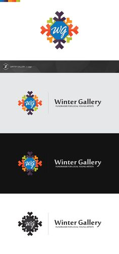 "Logo Design for the ""Winter Gallery"" - a fundraiser for local young artists.  Client/Organizers: http://tattoo-nouveau.com/"