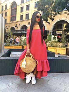 Chic Outfits, Summer Outfits, Fashion Outfits, Summer Dresses, African Traditional Dresses, Modest Wear, Black Girl Fashion, African Fashion Dresses, Elegant Outfit