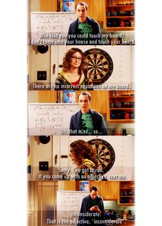 Who told you could touch my board?  #TBBT #TheBigBangTheory #Sheldon   ::)