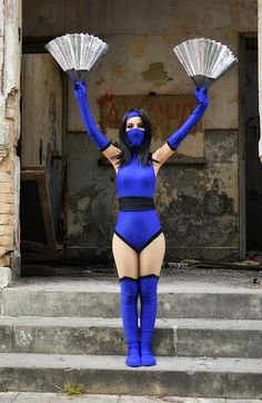 Mortal Kombat II Kitana by candycosplays2 on DeviantArt