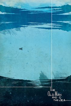 poster The Old Man and the Sea by HenriqueJorge, via Flickr