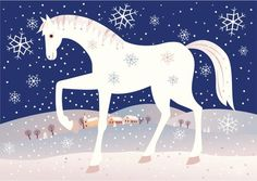 Martin na bielom koni november) Diy Crafts For Kids, Art For Kids, Winter Horse, Christmas Horses, Christmas Art Projects, Winter Kids, Horse Art, Free Vector Art, Holidays And Events