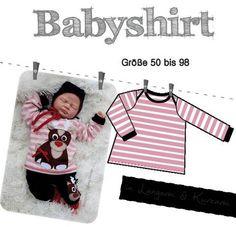 Babyshirt Größe 50 bis 98 bei Makerist