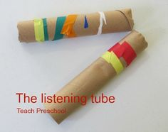 The Listening Tube by Teach Preschool