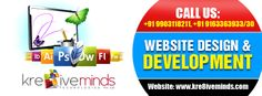 Choose http://www.kre8iveminds.com/ for the best Website Design and Development services in India
