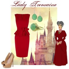 """Lady Tremaine"" by kary-trevino on Polyvore"