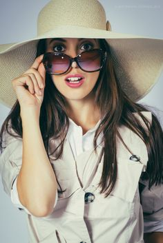 Singapore based video production and photography company Mirrored Sunglasses, Sunglasses Women, Fashion Photography, Stylists, Asia, Portrait, Model, White People, Headshot Photography