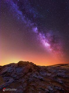 Milky Way In Hatta by Cesar Castillo