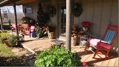 KW Ranch casita porch ~ photos shared on Cote de Texas blog site