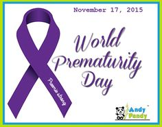 Shout out to all the brave and strong preemies and parents of preemies all over the world. Much love from Andy Pandy♥ #WorldPrematurityDay