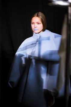 Backstage at Dice Kayek Haute Couture AW14
