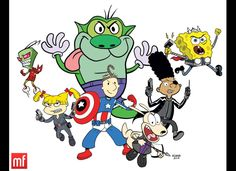 Nicktoon Avengers Assembled!