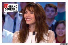 #EtienneJeanson #Victoire #bridal #Lace #dress w #DoriaTillier #Collection #broceliande #LeGrandJournal #LGJ #Canal+