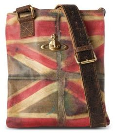 2349f08bbce83 Vivienne Westwood Union Jack messenger bag on bagservant.co.uk