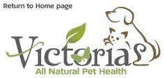 Victoria's All Natural Pet Health logo
