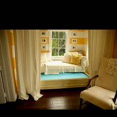 Cozy little nook bed... Perfect for reading