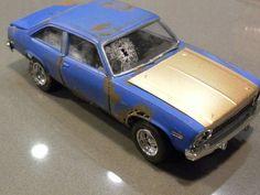 Wrecked 1975 Chevrolet Nova
