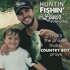 Luke Bryan - Huntin', Fishin' & Lovin' Everyday #LukeBryan #heels_n_boots