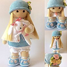 Risultati immagini per Cubby Amigurumi nativity, How to Crochet a Basic Doll - Crochet IdeasCrochet Pattern for Doll TILDA pdf Deutsch English - SalvabraniThis Pin was discovered by ThaImage gallery – Page 140385713363338433 – ArtofitPlease note: Crochet Dolls Free Patterns, Crochet Doll Pattern, Doll Patterns, Crochet Stitches, Crochet Amigurumi, Amigurumi Doll, Knit Crochet, Crochet Doll Clothes, Knitted Dolls