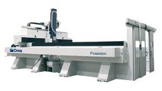 Poseidon - High Speed 5 Axis Machining Centre - CMS Advanced Materials 5 Axis Machining, High Speed Machining, 5 Axis Cnc, Composite Material, Steel Structure, Cnc Machine, Centre, Steel Frame