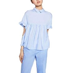 Find More Blouses & Shirts Information about women elegant butterfly sleeve…