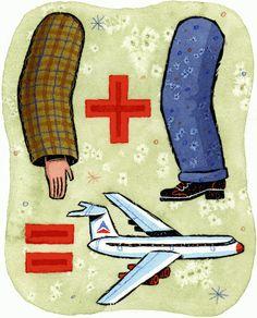 Adam McCauley Illustration | Arm + Leg = Aeroplane